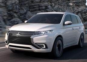 Mitsubishi Outlander PHEV Concept-S, funcionalidad SUV