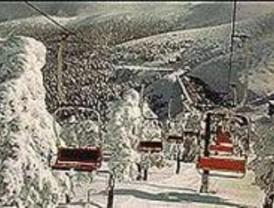 La estación de Navacerrada abre la pista de esquí 'El Escaparate'