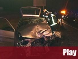 Dos heridos tras un accidente en Villanueva del Pardillo