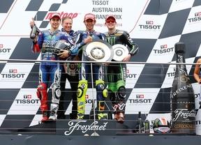 El más listo en la accidentada carrera de Australia
