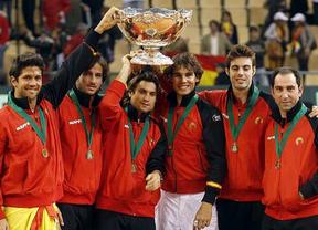 El equipo español de Copa Davis homenajeará a Madrid