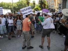 Desalojan a los 'veteranos' del Paseo del Prado
