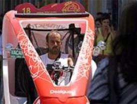 Los taxistas se enfrentan a los 'trixis'