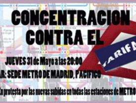 Nuevo parón del Metro contra el tarifazo