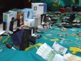 Cae una banda especializada en robos con violencia mediante el uso de armas