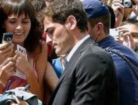Íker Casillas recibió la Medalla de Oro de Móstoles