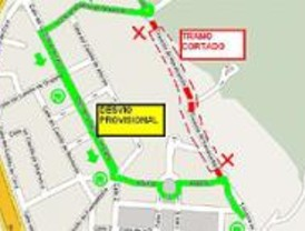 Obras de desdoblamiento de una travesía en Las Rozas para reordenar el tráfico