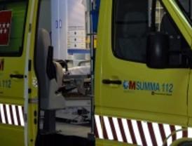 Un muerto y dos heridos en un choque frontal en Campo Real