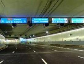 Los túneles de la M-30 tendrán cobertura de móviles en dos semanas