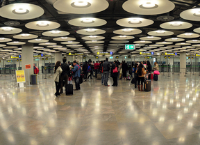 El aeropuerto madrileño registró 3,5 millones de pasajeros en abril
