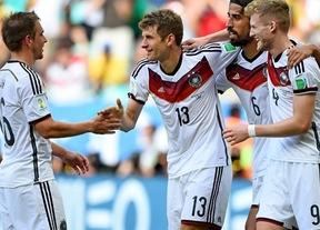 Alemania se exhibe ante Portugal