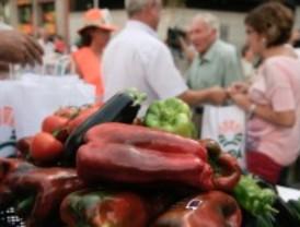 Reparto de frutas para denunciar la caída de precios