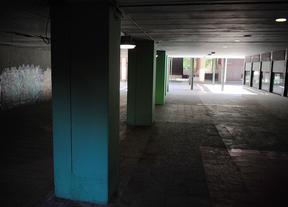 Azca, zona de túneles donde estan las discotecas