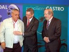 Nadal, Prisciliano Castro y Adrián Piera, Medallas de Oro de Madrid