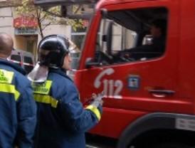 Nueve intoxicados por un incendio en Ciempozuelos