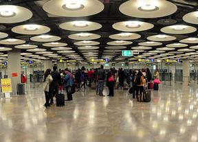 Barajas aumentó en mayo un 4,1% su tráfico de pasajeros