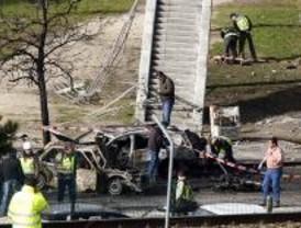 Estalla sin causar heridos un coche bomba de ETA en Campo de las Naciones