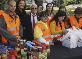 Mensajeros de la Paz bate el récord Guiness de recogida de alimentos