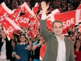 Zapatero pide el voto a los que están 'hartos de la derecha'