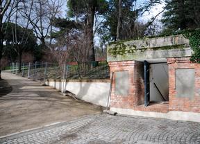 Búnker de la Guerra Civil en el Parque El Capricho