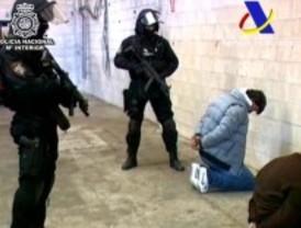 Doce narcotraficantes detenidos con 263 kilos de cocaína