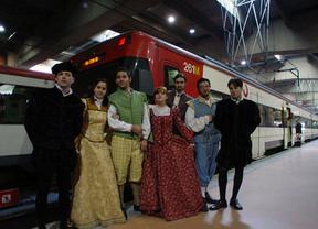 Este sábado vuelve el Tren de Cervantes