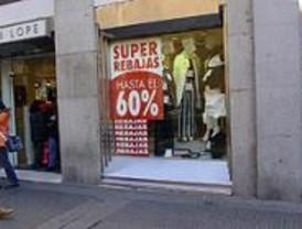 Los madrileños gastarán un 10% menos en rebajas