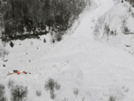 Un alud mata a un montañero madrileño en Huesca