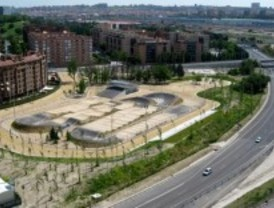 Arganzuela ya tiene la mayor pista de BMX de Europa