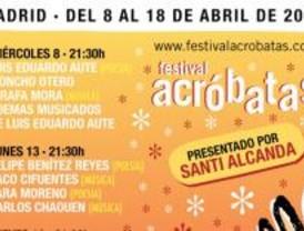 Luis Eduardo Aute y Carlos Chaouen actuarán en el 'Festival Acróbatas'