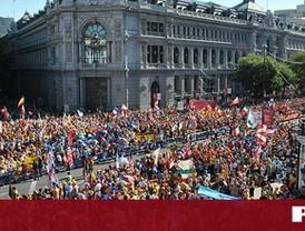 Los jóvenes católicos hacen suya Madrid en el arranque de la Jornada Mundial de la Juventud