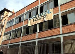 Casa okupada por jóvenes de extrema derecha en Tetuán