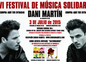 Dani Martín, Maldita Nerea y Nacha Pop actuarán en el Festival de la Raqueta