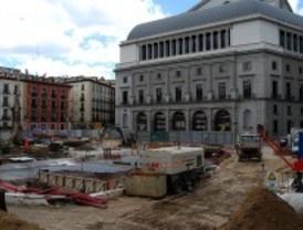 Las obras de Ópera se retrasan a diciembre