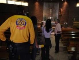 La mujer herida en el tiroteo de la iglesia abandona el hospital