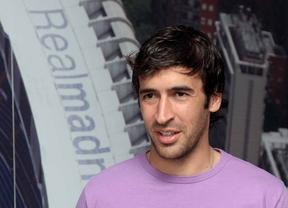 Raúl González, exjugador del Real Madrid