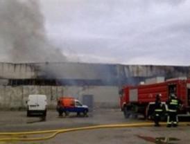 Incendio en un hangar del aeródromo de Cuatro Vientos