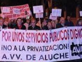 Cientos de vecinos por su centro de salud en Aluche