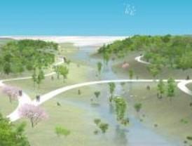El agua será protagonista en el parque de La Gavia