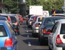 Mucho tráfico en el 'Día sin Coches'