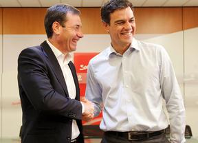 Tomás Gómez y Pedro Sánchez,