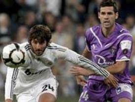 Raúl hace ganar al Madrid contra el Valladolid