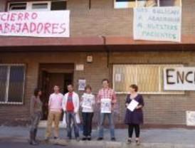 Encierro en un centro de Drogodependencia contra 70 despidos sin indemnización