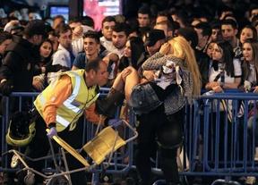 Más de 200 personas atendidas y cuatro detenidos durante la celebración en Cibeles