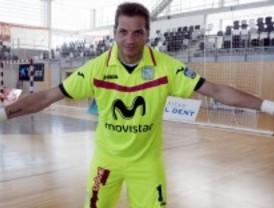 Luis Amado, portero del Inter Movistar, quiere ser el 'rey' de la Copa