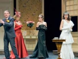 El teatro vive un extravagante triángulo amoroso