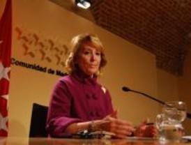 Aguirre quiere que Zapatero se quede en paro