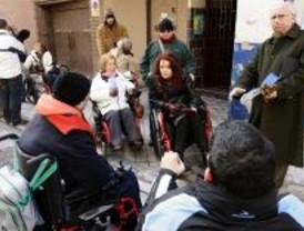 Una ruta en silla de ruedas por el Día de la Discapacidad