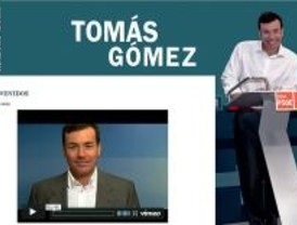 Tomás Gómez se hace 'bloguero'
