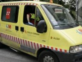 Un hombre en coma tras caerse desde una altura de tres metros en Alcalá de Henares